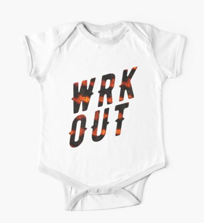 WRK OUT One Piece - Short Sleeve
