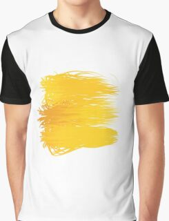 Speckle Gravity Yellow Graphic T-Shirt