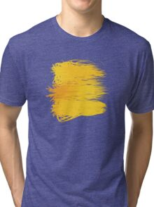 Speckle Gravity Yellow Tri-blend T-Shirt