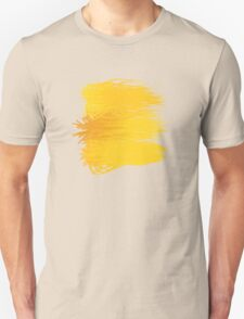 Speckle Gravity Yellow Unisex T-Shirt