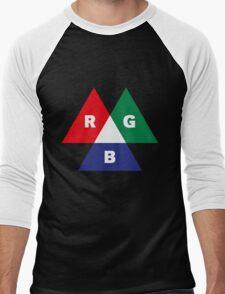 RGB Mode (Red - Green - Blue) Men's Baseball ¾ T-Shirt