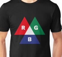 RGB Mode (Red - Green - Blue) Unisex T-Shirt