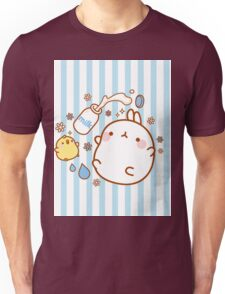 kawaii molang bunny spilt milk Unisex T-Shirt