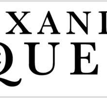Alexander McQueen Sticker