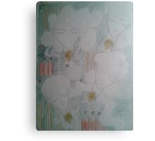 Some anime angels with a motherboard backdrop Canvas Print