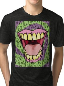 A Killer Joke - spiral Tri-blend T-Shirt