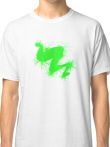 Speckle Gravity Green Classic T-Shirt
