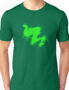 Speckle Gravity Green Unisex T-Shirt