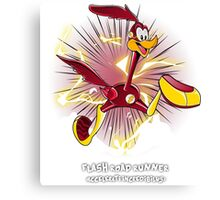 The Flash Road Runner Canvas Print