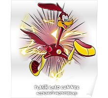 The Flash Road Runner Poster