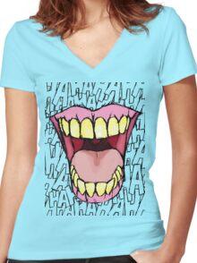 A Killer Joke #2 Women's Fitted V-Neck T-Shirt