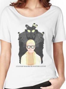 "FNV: Arcade Gannon - ""Culpam maiorum posteri luunt."" Women's Relaxed Fit T-Shirt"
