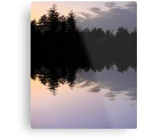 Mirror Lake Metal Print