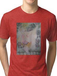 Terra and dreamcatchers and the phantom train Tri-blend T-Shirt