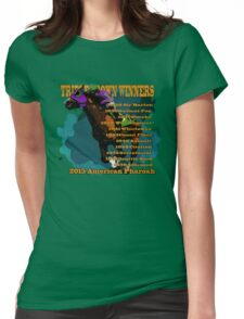 Triple Crown Winners 2015 Womens Fitted T-Shirt
