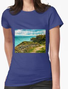 Durlston Hall Country Park View Womens Fitted T-Shirt