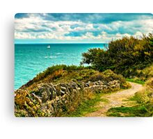Durlston Hall Country Park View Canvas Print