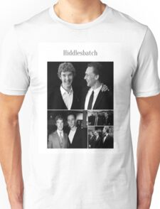 Benedict Cumberbatch and Tom Hiddleston Unisex T-Shirt
