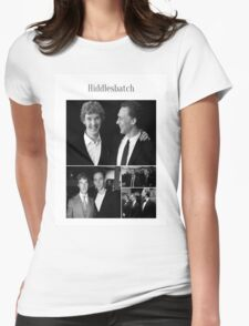 Benedict Cumberbatch and Tom Hiddleston Womens Fitted T-Shirt