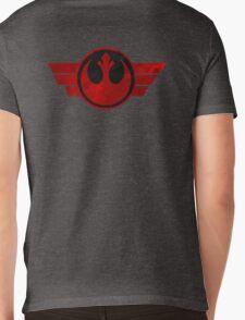 Rebel Alliance flight logo Mens V-Neck T-Shirt