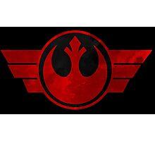 Rebel Alliance flight logo Photographic Print