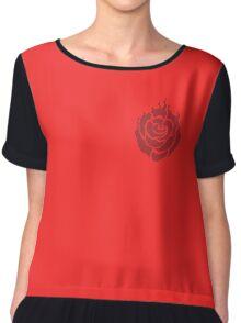 Ruby Rose Symbol Side Chiffon Top