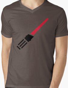 Light Saber Mens V-Neck T-Shirt