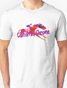 Fun California Chrome Design Unisex T-Shirt