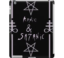 Manic & Satanic iPad Case/Skin