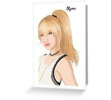 Momo - TWICE! Greeting Card