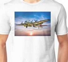 "Boeing B-17G Flying Fortress ""Yankee Lady"" Unisex T-Shirt"