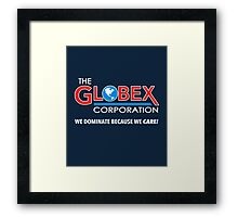 Globex Corporation T-Shirt Framed Print