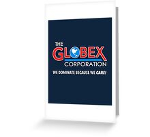Globex Corporation T-Shirt Greeting Card