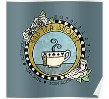 Mad Tea Shoppe Logo Poster