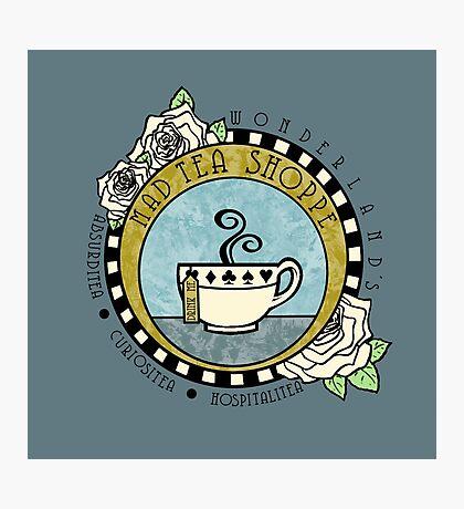 Mad Tea Shoppe Logo Photographic Print