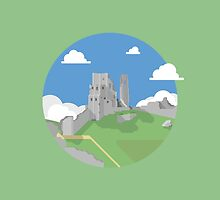 Corfe Castle by Jamie Harrington