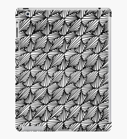 Zentangle Paradox iPad Case/Skin