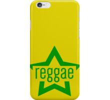 Reggae Star iPhone Case/Skin
