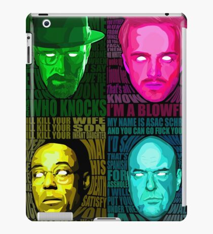 Breaking Bad All Stars iPad Case/Skin