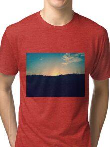 Sun and Shadows Tri-blend T-Shirt