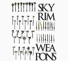 Skyrim Weapons Classic T-Shirt