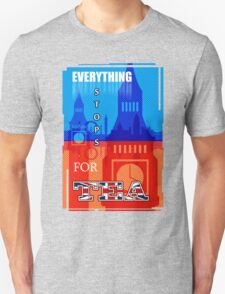 Everything Stops for Tea Unisex T-Shirt