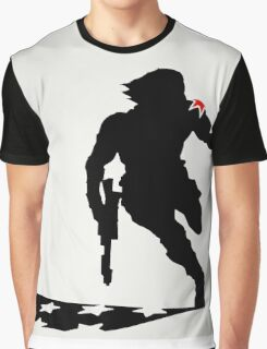 The Winter Solider Silhouette Graphic T-Shirt