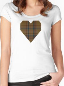 0888 Williams #2 Fashion Tartan  Women's Fitted Scoop T-Shirt