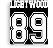 Lightwood 89 White Canvas Print