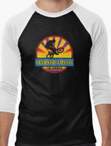 MOUNTAIN BIKE CRESTED BUTTE COLORADO BIKING MOUNTAINS Men's Baseball ¾ T-Shirt