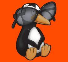 Penguin with Eyeglasses Kids Tee