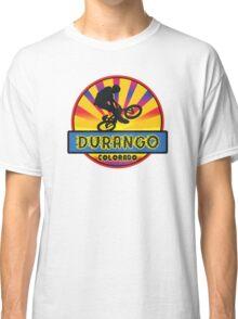 MOUNTAIN BIKE DURANGO COLORADO BIKING MOUNTAINS Classic T-Shirt