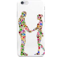 couple abstract iPhone Case/Skin