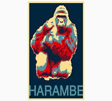 Harambe RIP Silverback Gorilla Gentle Giant Obama Style Poster Tribute Cincinnati Zoo Unisex T-Shirt